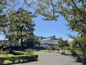 小田原城二の丸から見た銅門