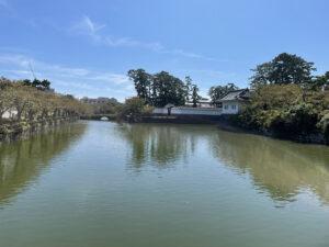 小田原城のお堀と隅櫓