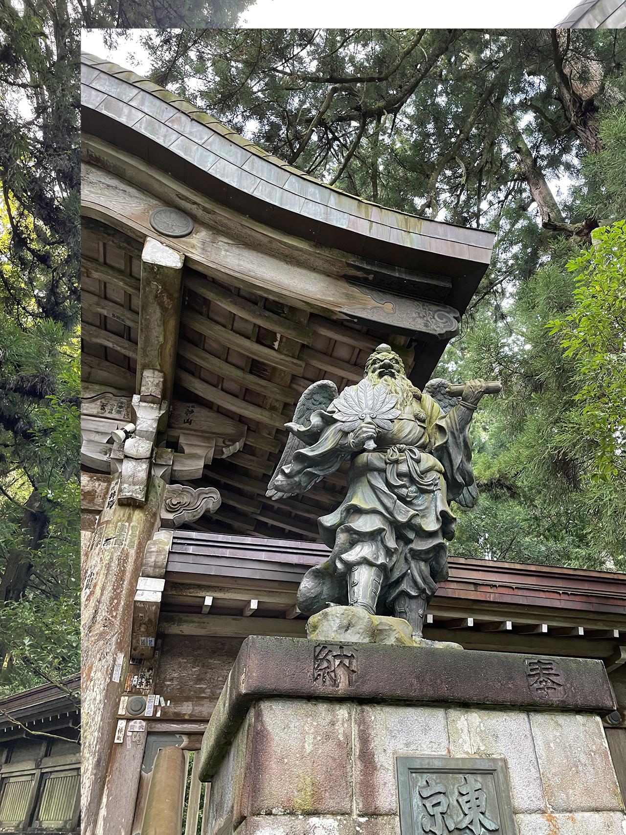 最乗寺の天狗像