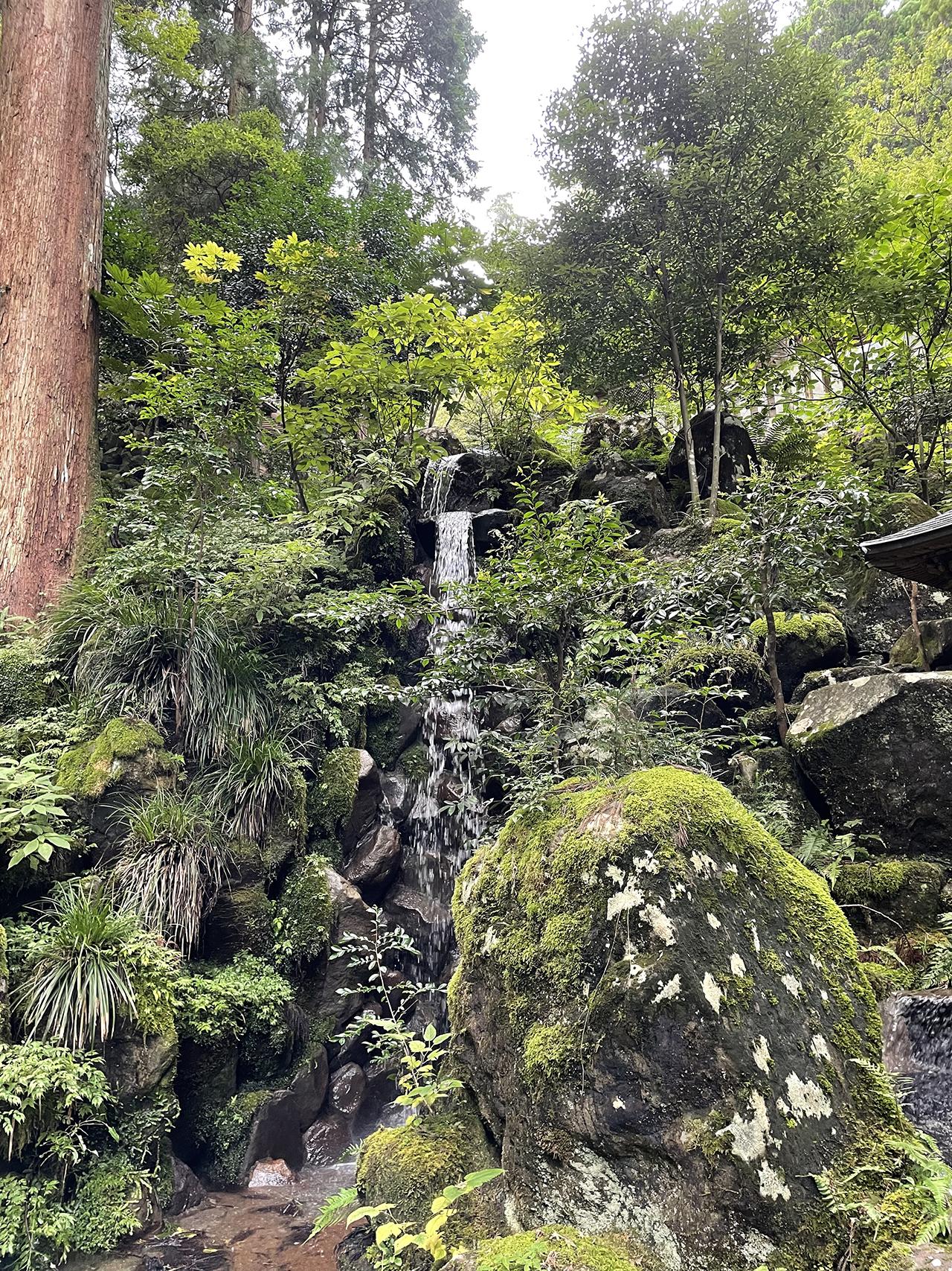 最乗寺の清心の滝