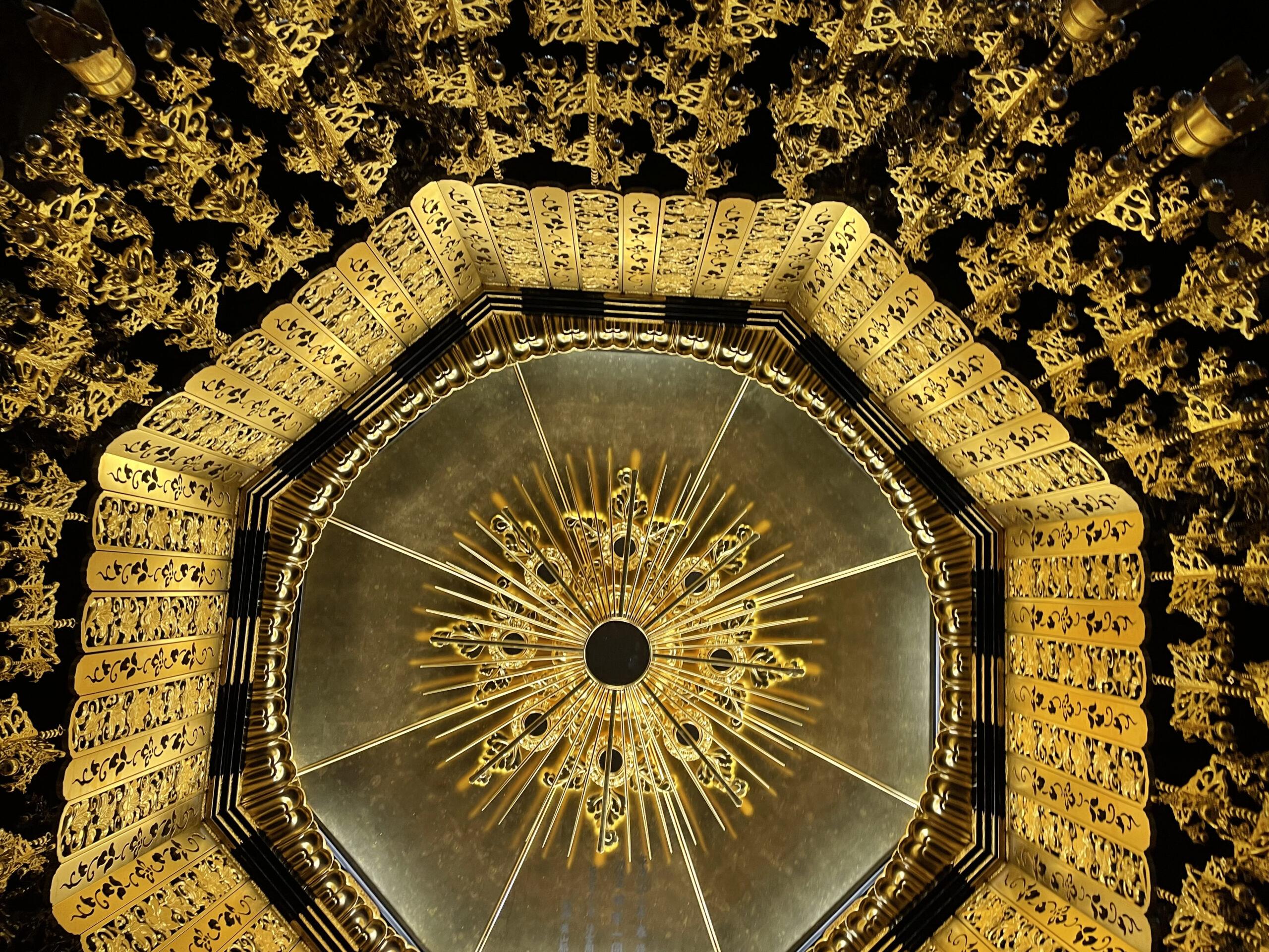 最乗寺本堂の天井