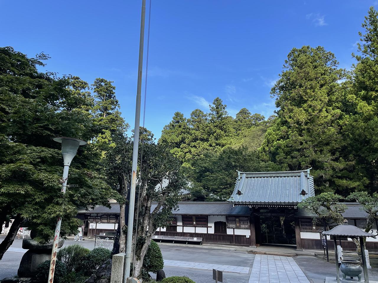 最乗寺の建物